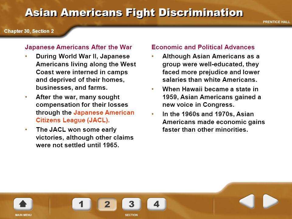 Asian Americans Fight Discrimination