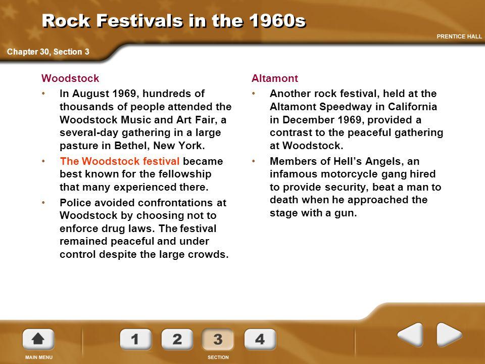 Rock Festivals in the 1960s Woodstock