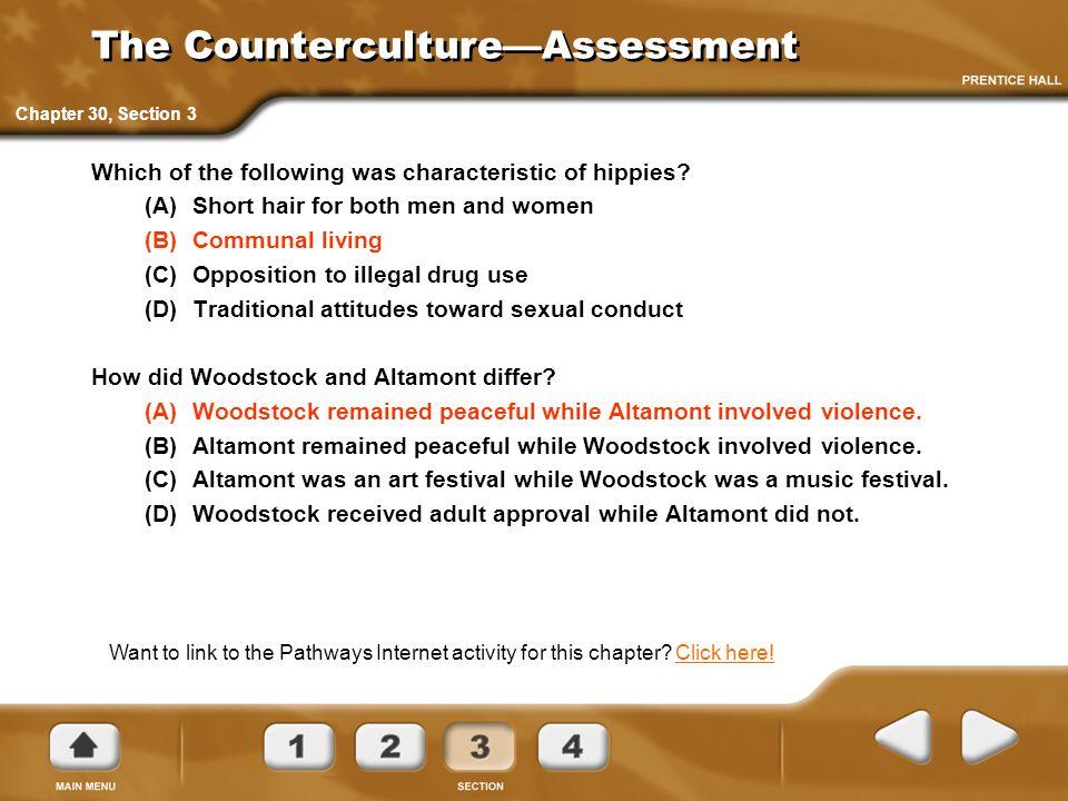 The Counterculture—Assessment