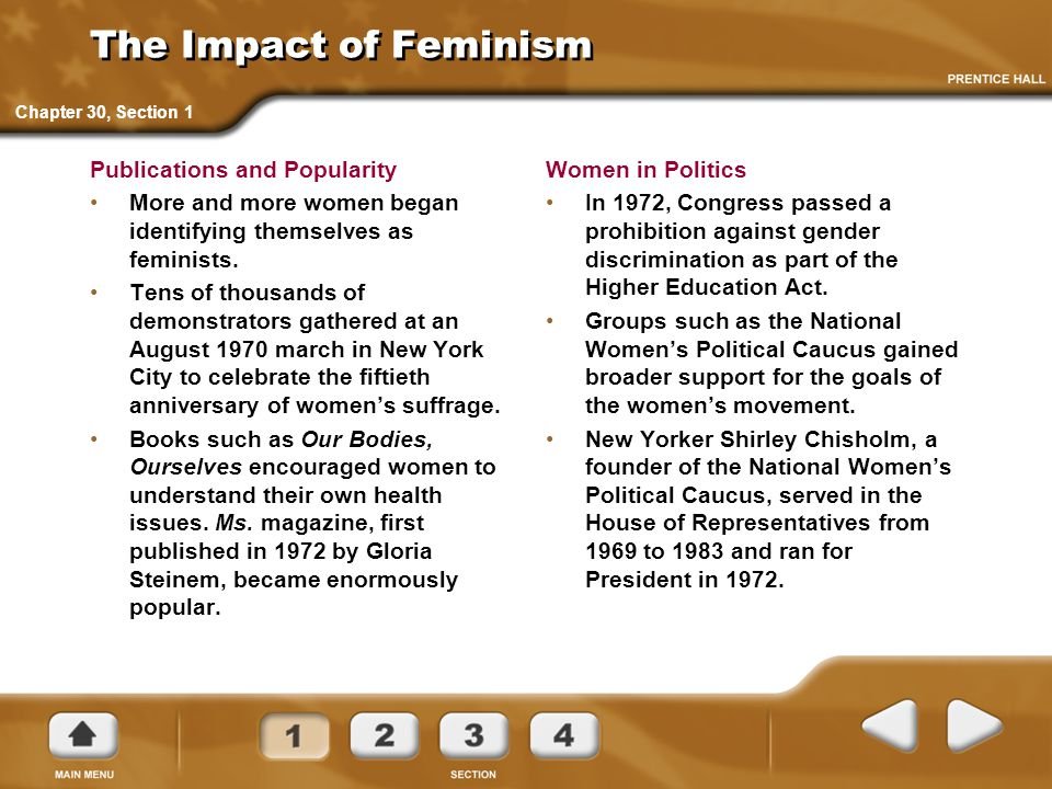 The Impact of Feminism Publications and Popularity