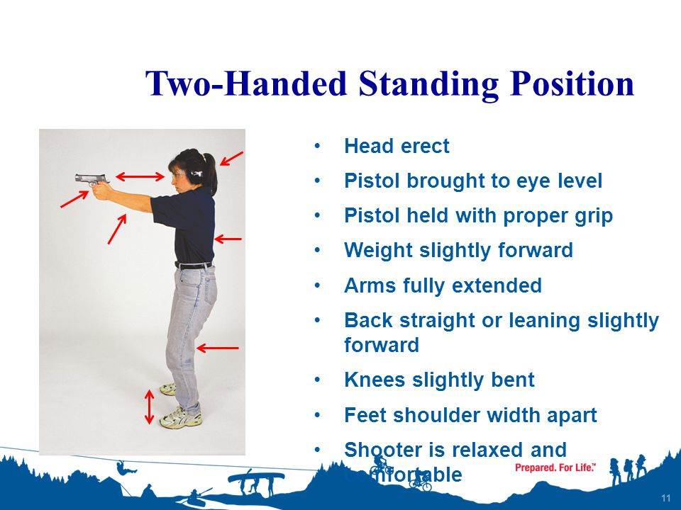 Two-Handed Standing Position