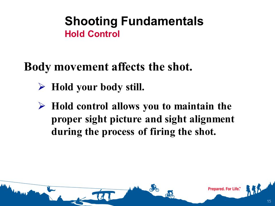 Shooting Fundamentals Hold Control
