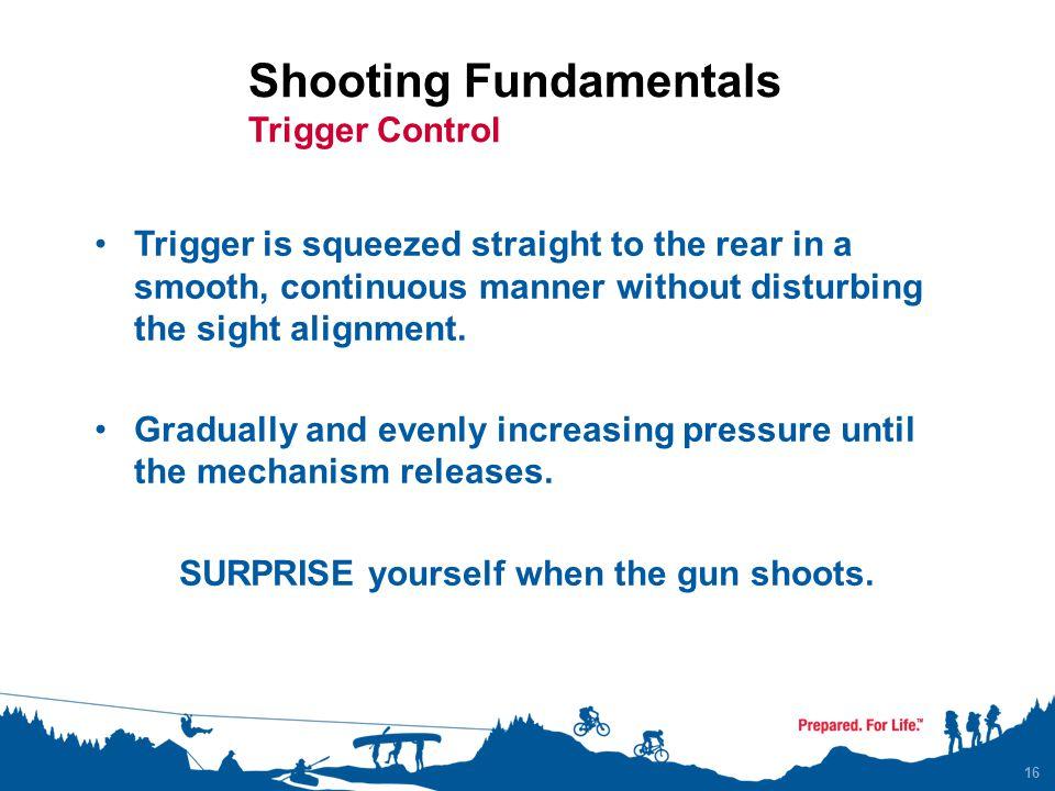 Shooting Fundamentals Trigger Control