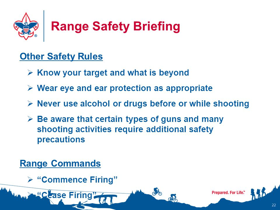 Range Safety Briefing Other Safety Rules Range Commands