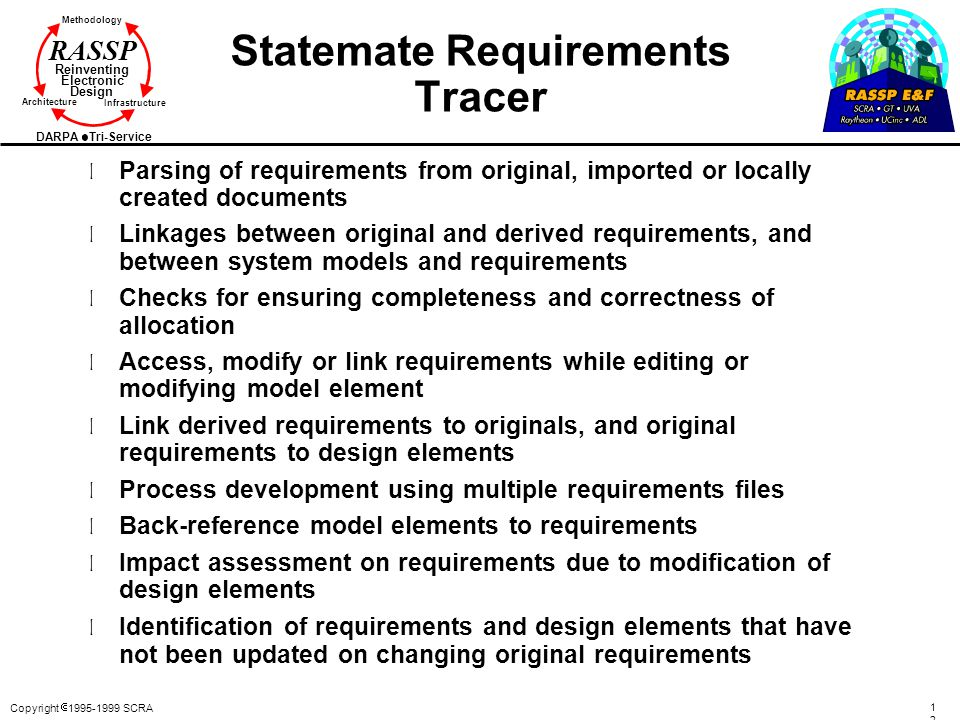Statemate Requirements Tracer
