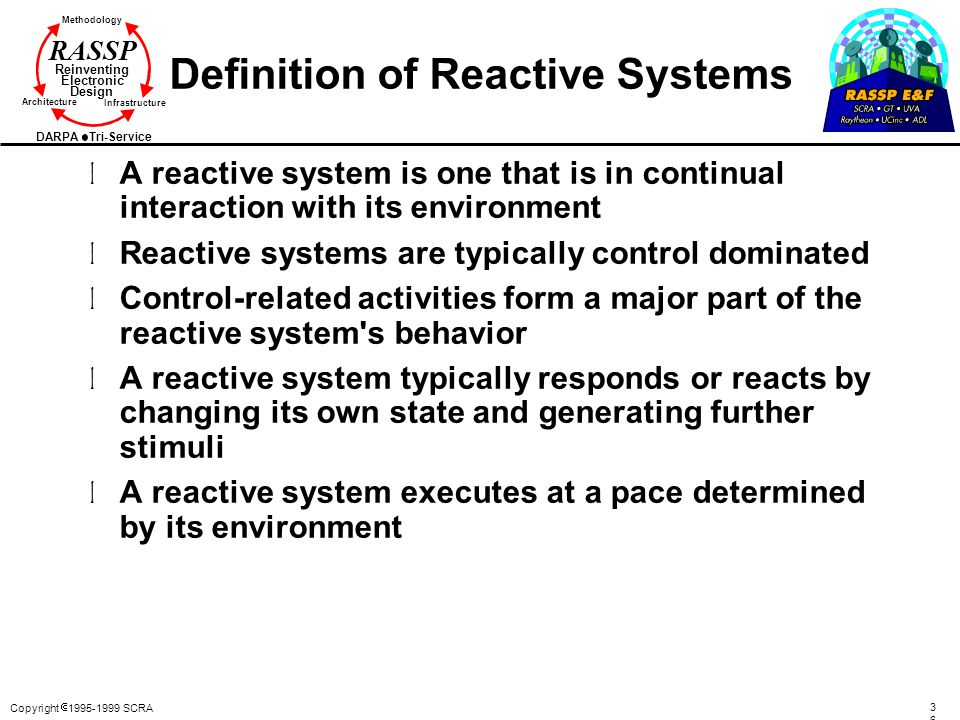 Definition of Reactive Systems