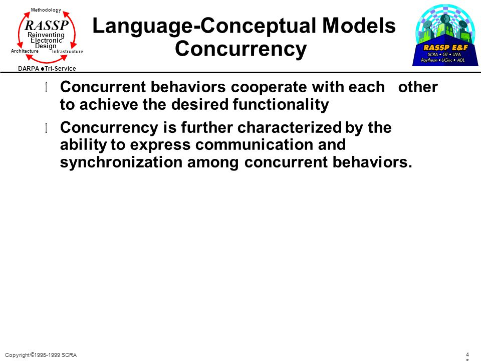 Language-Conceptual Models Concurrency