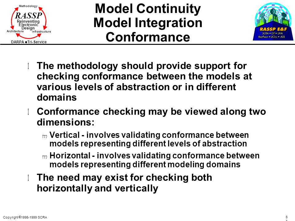Model Continuity Model Integration Conformance