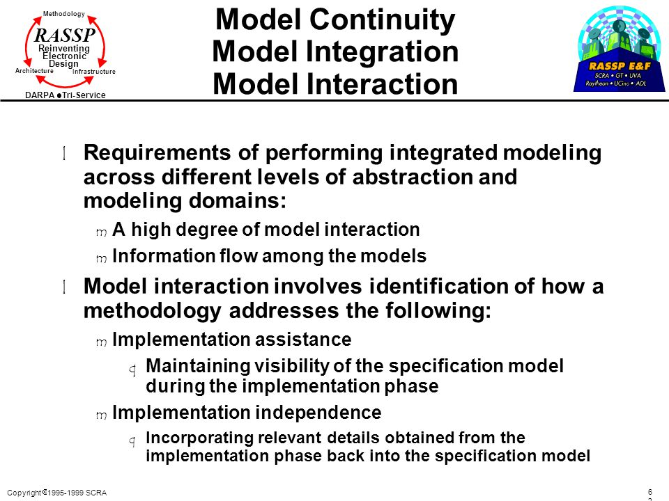 Model Continuity Model Integration Model Interaction