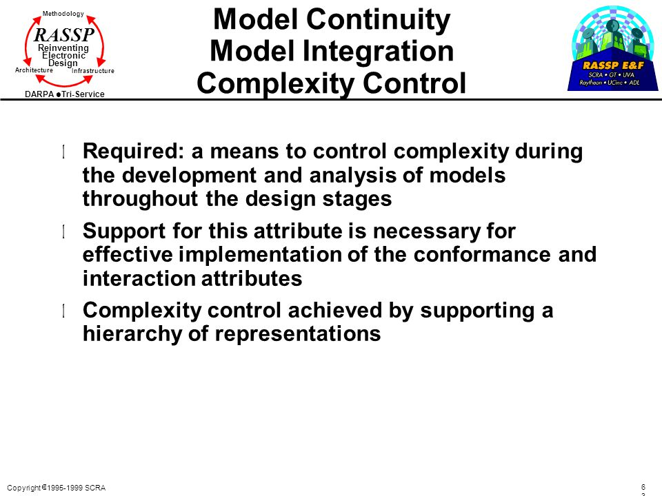 Model Continuity Model Integration Complexity Control