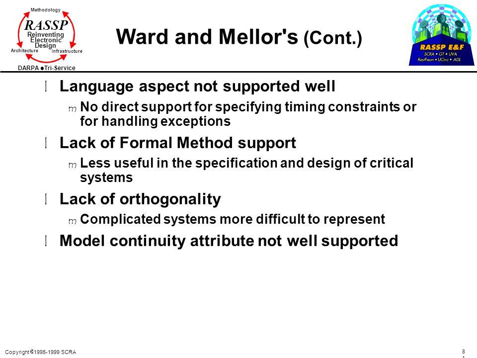 Ward and Mellor s (Cont.)
