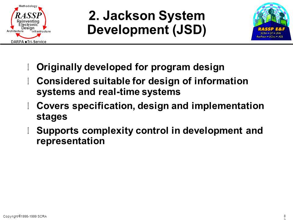2. Jackson System Development (JSD)