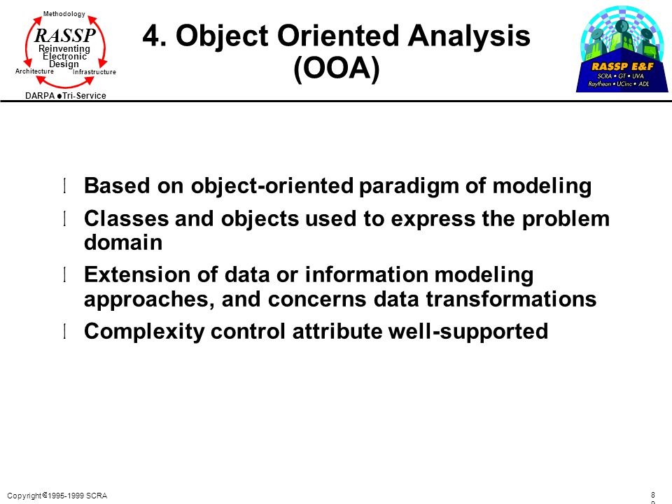 4. Object Oriented Analysis (OOA)