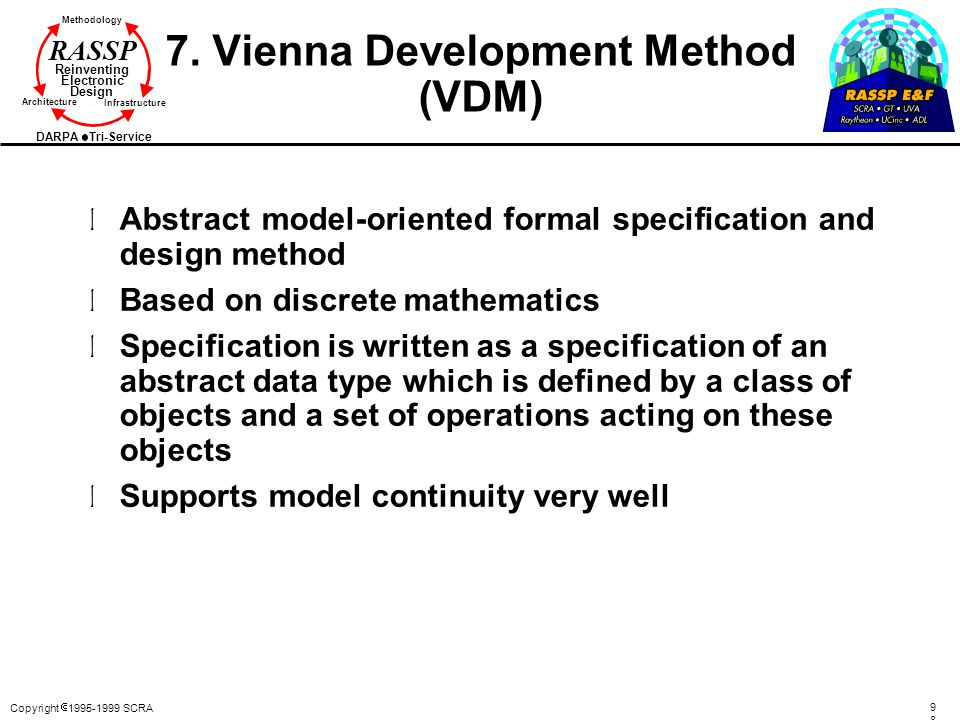 7. Vienna Development Method (VDM)