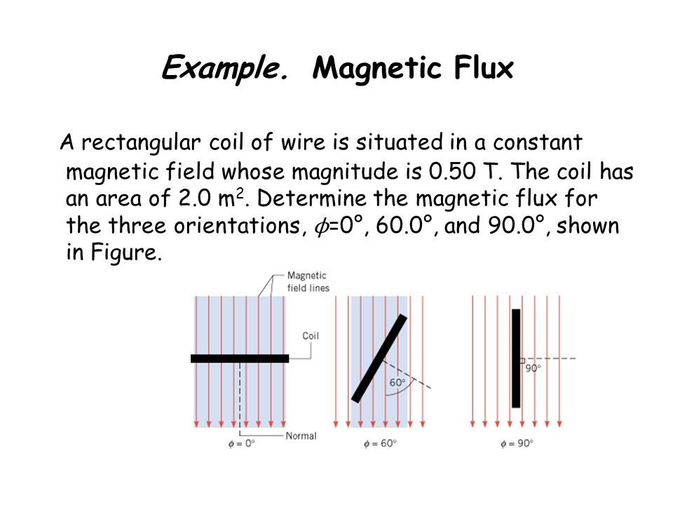 Example. Magnetic Flux