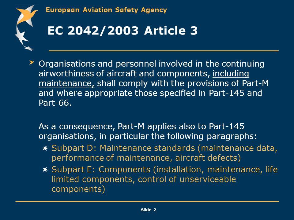 EC 2042/2003 Article 3