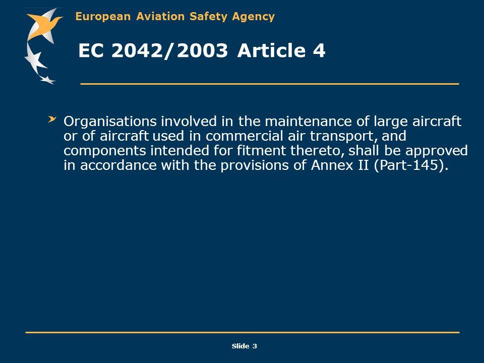 EC 2042/2003 Article 4