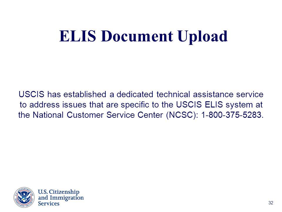 ELIS Document Upload