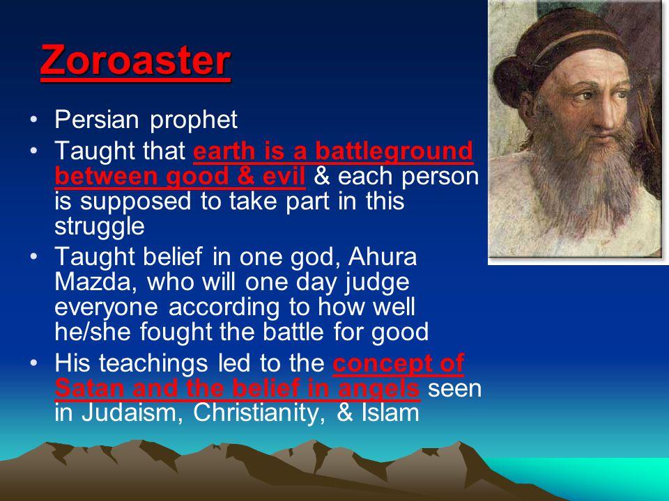 Zoroaster Persian prophet