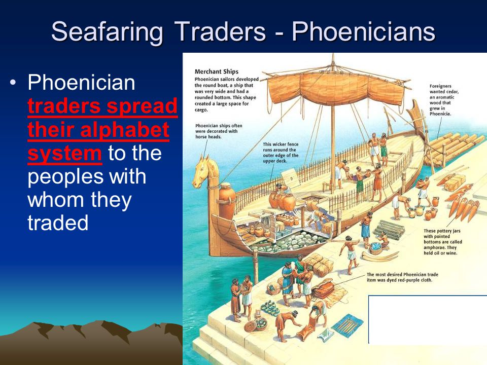 Seafaring Traders - Phoenicians