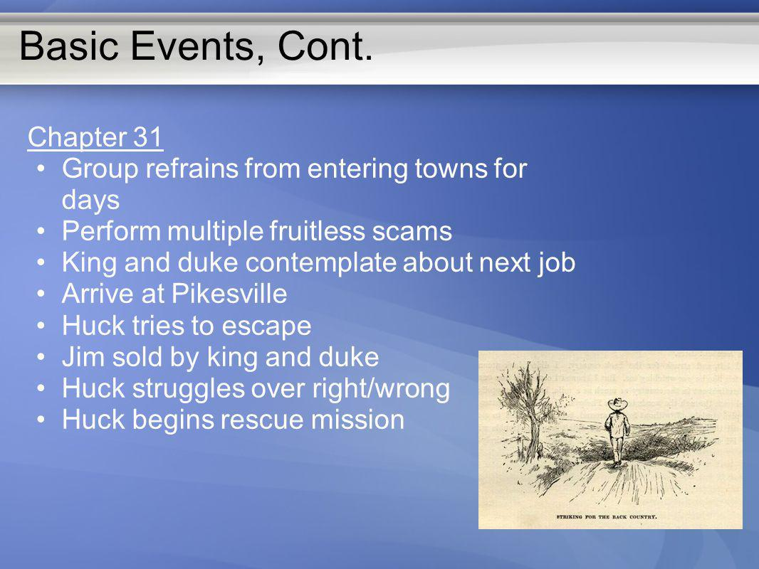 Basic Events, Cont. Chapter 31
