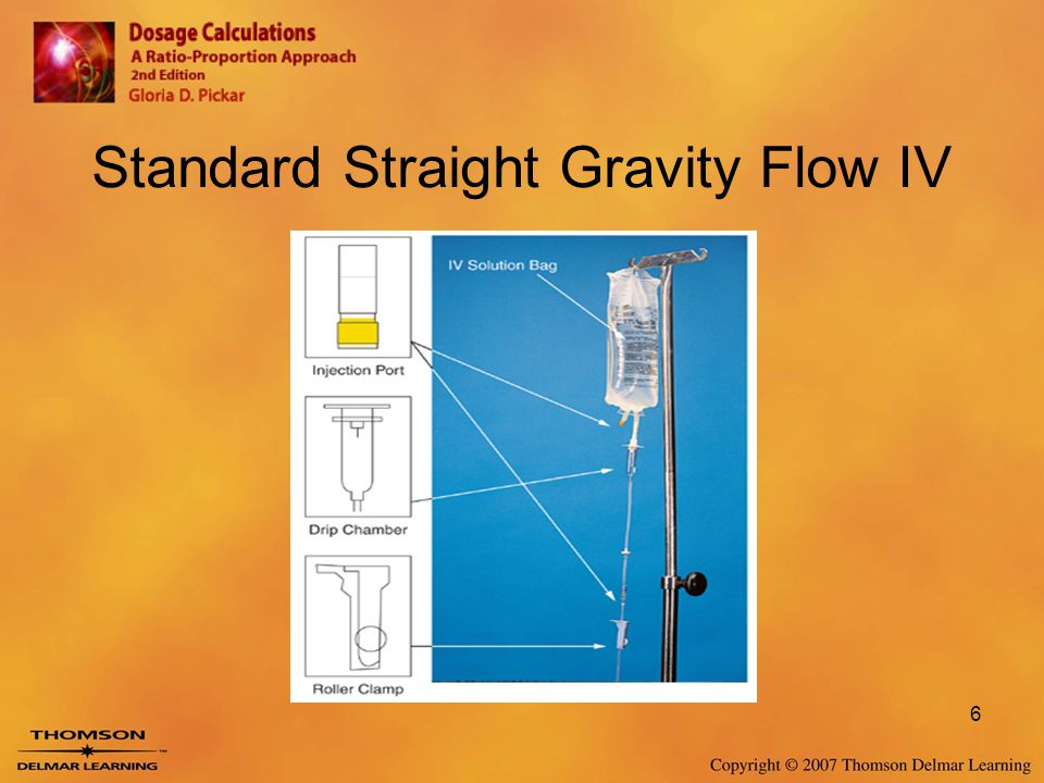 Standard Straight Gravity Flow IV