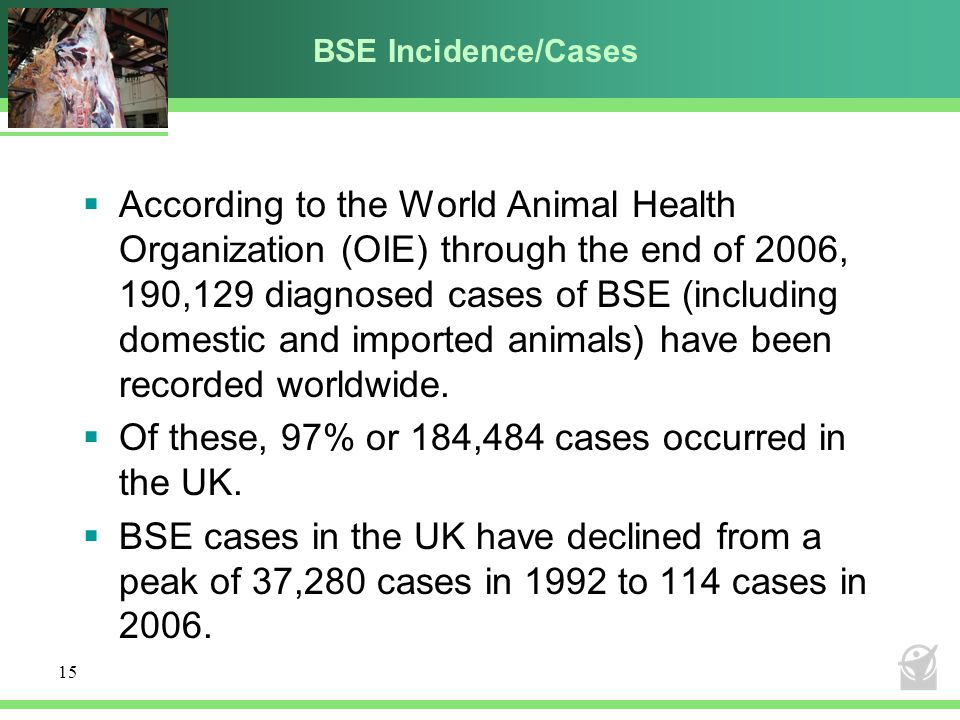 Of these, 97% or 184,484 cases occurred in the UK.