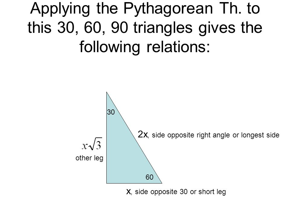Applying the Pythagorean Th