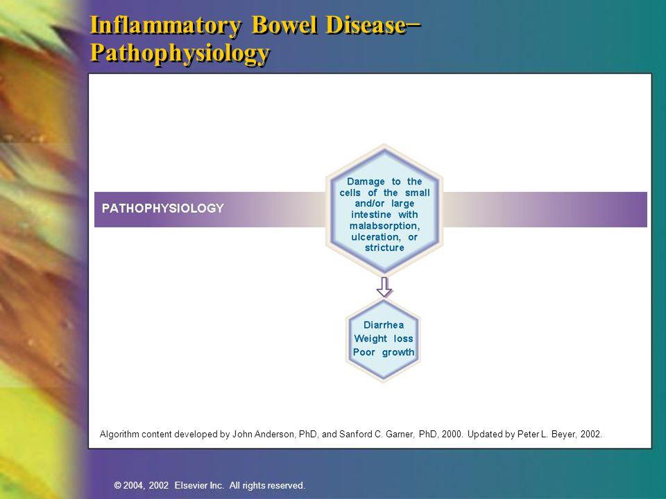Inflammatory Bowel Disease− Pathophysiology