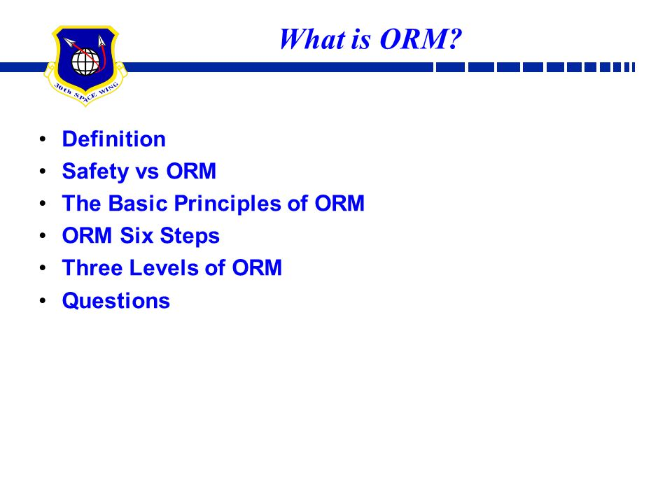What is ORM Definition Safety vs ORM The Basic Principles of ORM