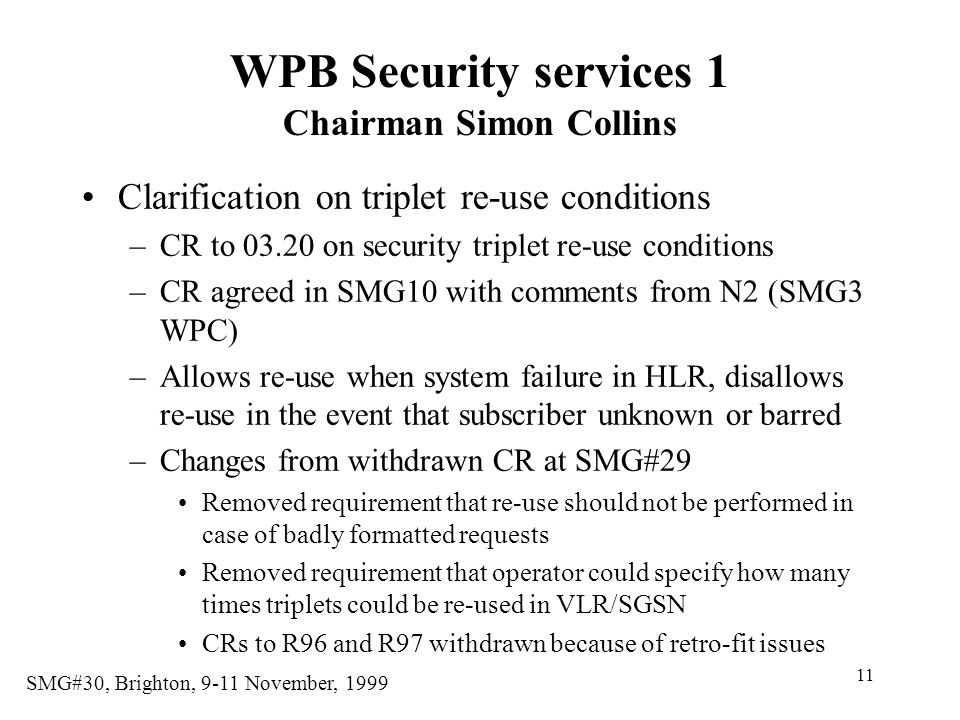 WPB Security services 1 Chairman Simon Collins