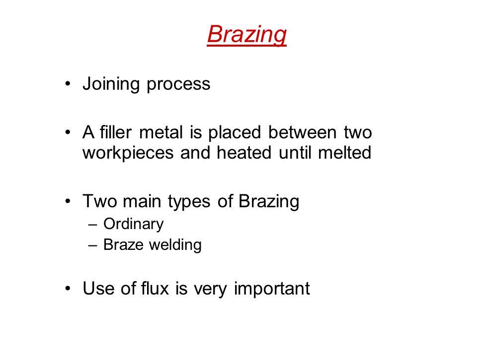 Brazing Joining process