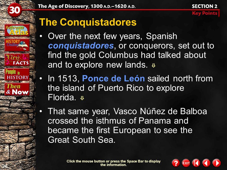 The Conquistadores