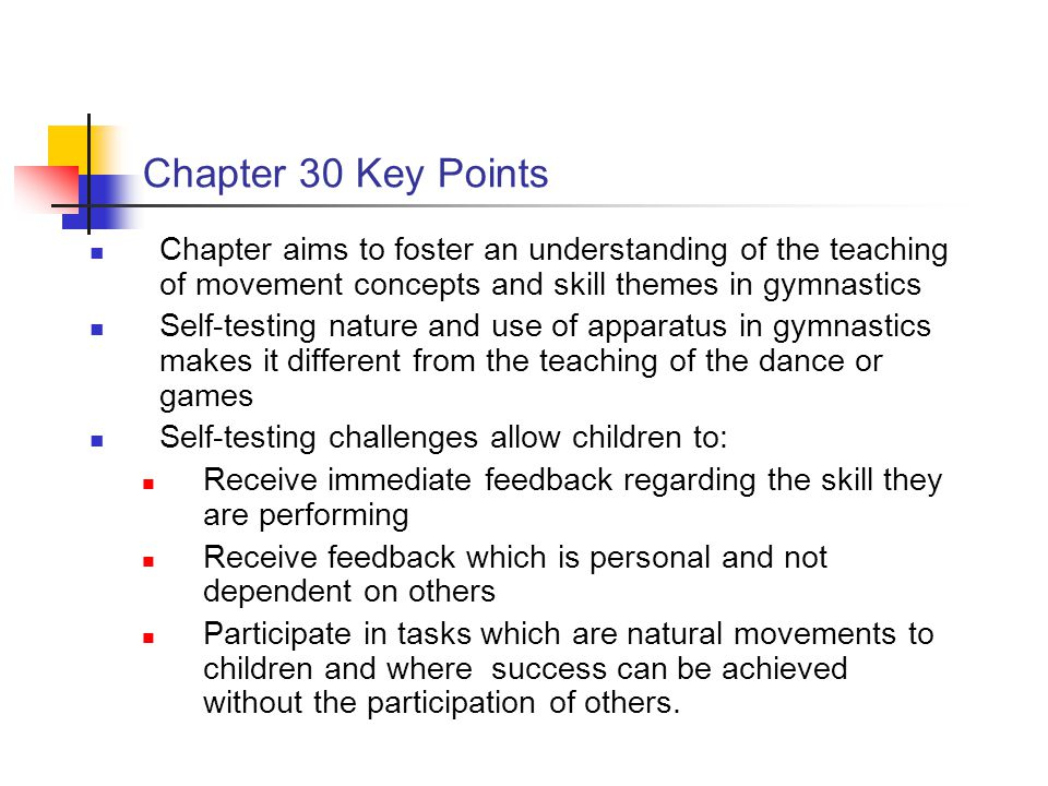 Skill Themes in Gymnastics - ppt video online download