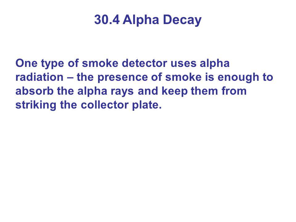 30.4 Alpha Decay