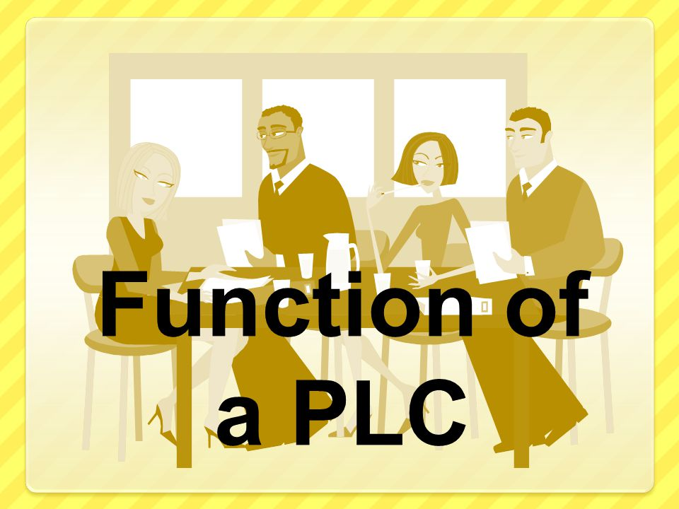Function of a PLC