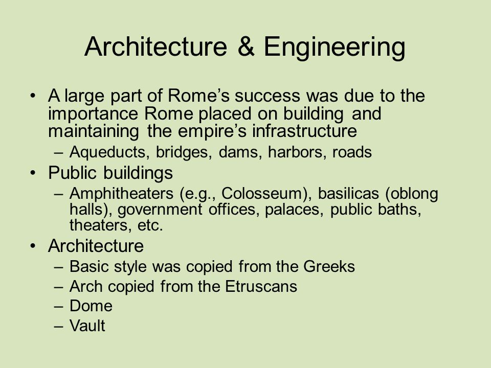 Architecture & Engineering