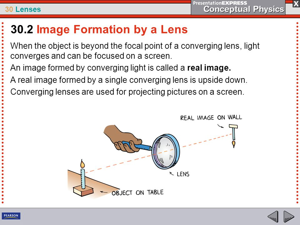 30.2 Image Formation by a Lens