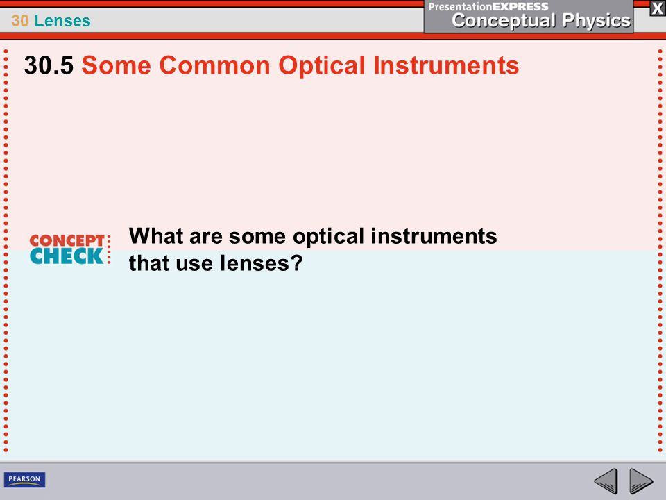 30.5 Some Common Optical Instruments