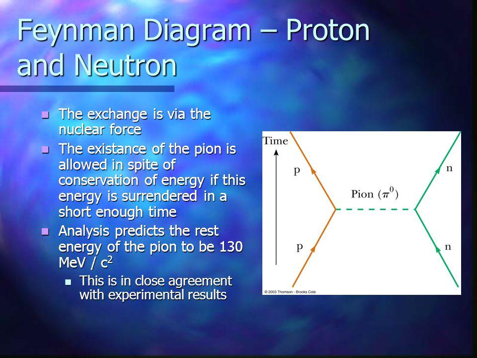 Feynman Diagram – Proton and Neutron