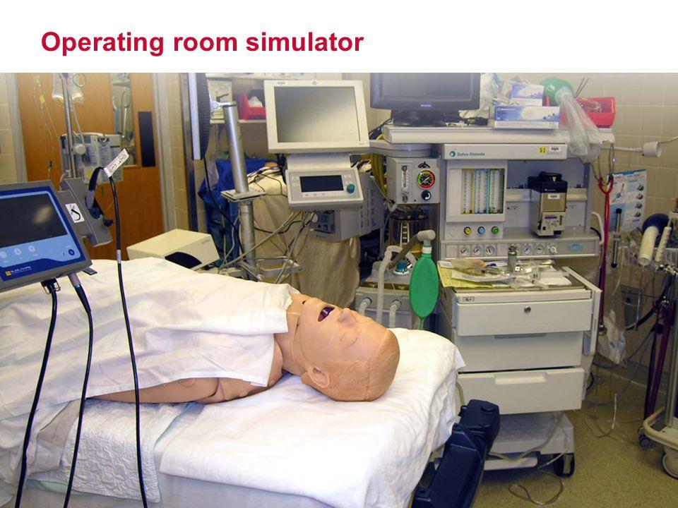 Operating room simulator