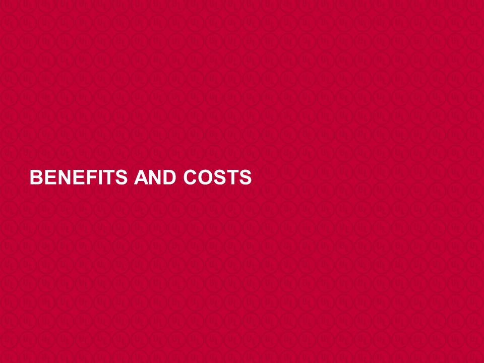 BENEFITS AND COSTS I'll take just a couple of minutes to summarizes the benefits of an HFE procedure, but starting with the benefits of HFE itself.