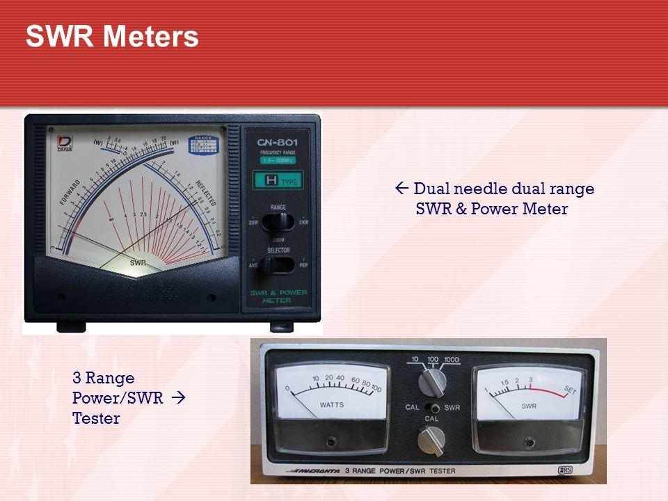  Dual needle dual range SWR & Power Meter