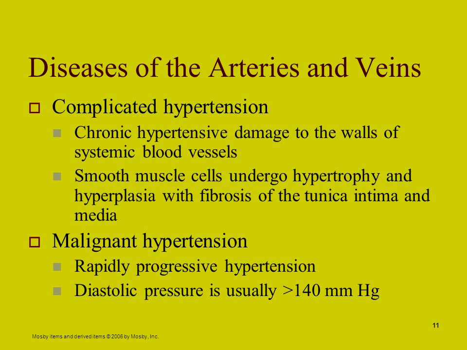 Diseases of the Arteries and Veins