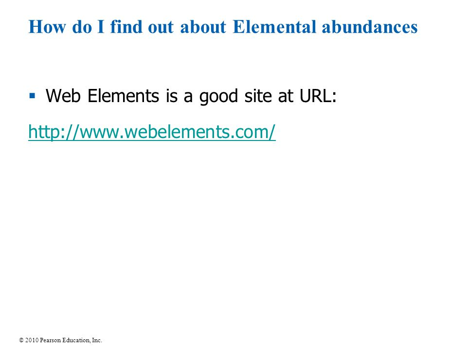 How do I find out about Elemental abundances