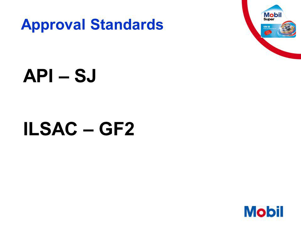 Approval Standards API – SJ ILSAC – GF2