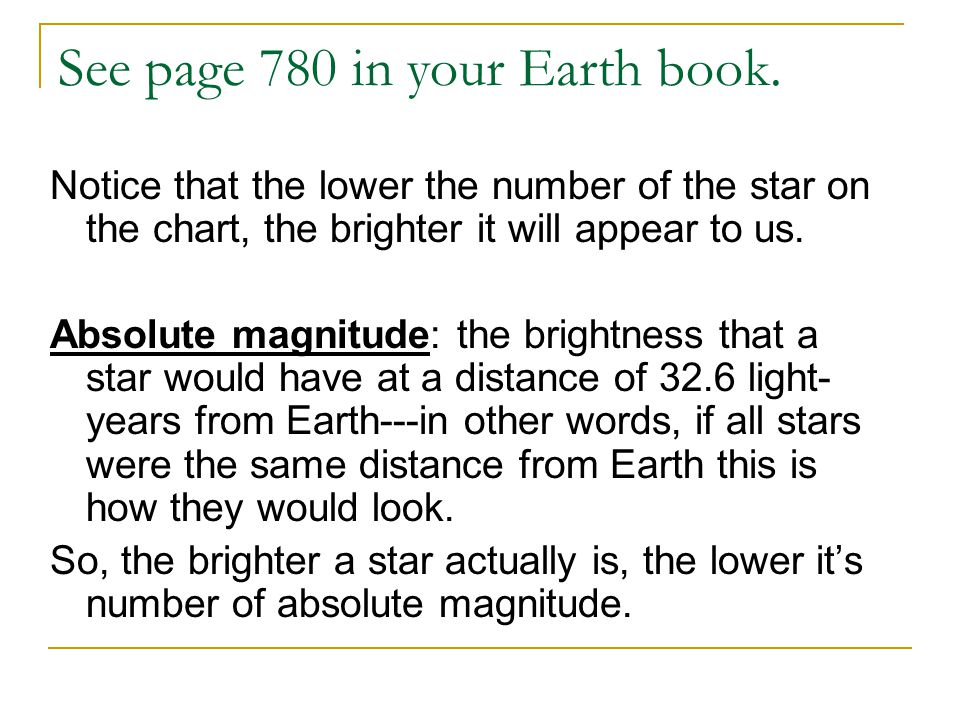 See page 780 in your Earth book.