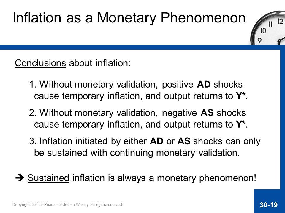 Inflation as a Monetary Phenomenon