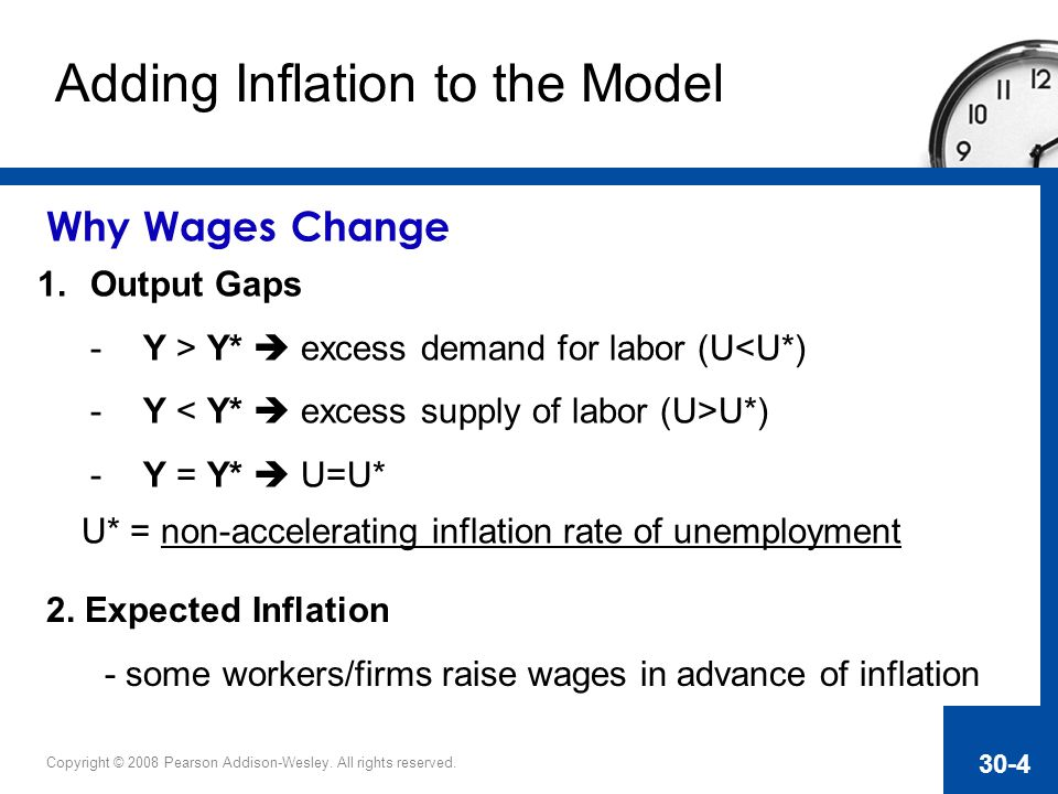 Adding Inflation to the Model