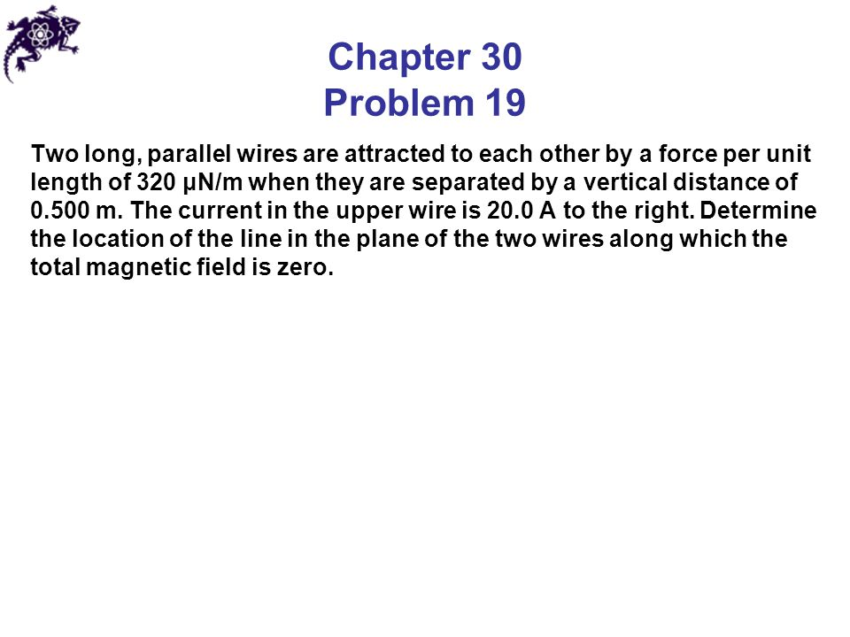 Chapter 30 Problem 19